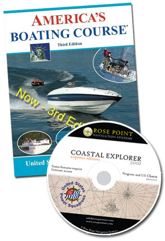 Boat Safety Course Book and CD's